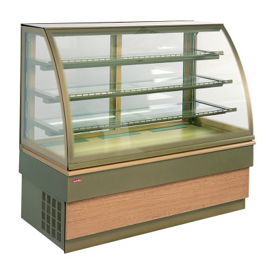 "Refrigerated display case / pastry ""Unis Cool"" Georgia III 1000 chocolate"