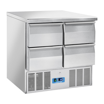 """Refrigerated saladette with 4 Drawers """"Coolhead"""" CRD 94A"""