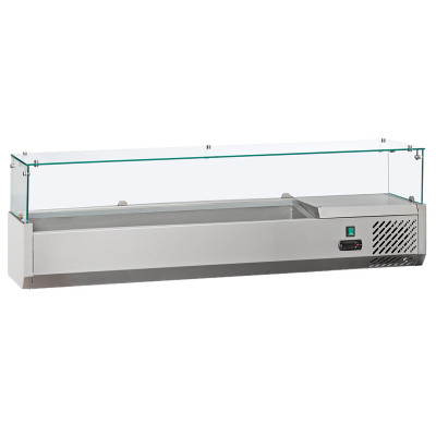 """Refrigerated topping unit """"Coolhead"""" VRX 15/38 (5*GN1/3 + 1*GN1/2)"""